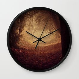 Where's the white rabbit?  Wall Clock