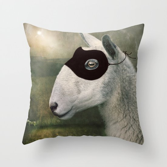 The Disguise... Throw Pillow