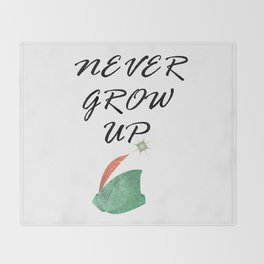 Never Grow Up - I Throw Blanket
