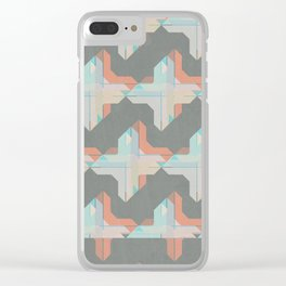 Escaping Repetition Clear iPhone Case