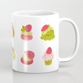 Strawberry Matcha Coffee Mug