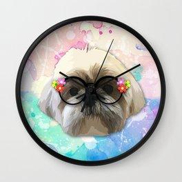 shizhu Dog 4 Wall Clock