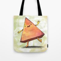 pyramid Tote Bags featuring Pyramid by Pumpkin Snipes
