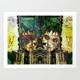 Industrial Deetz Art Print
