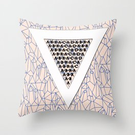 Abracadabra! (Upside Down) Throw Pillow
