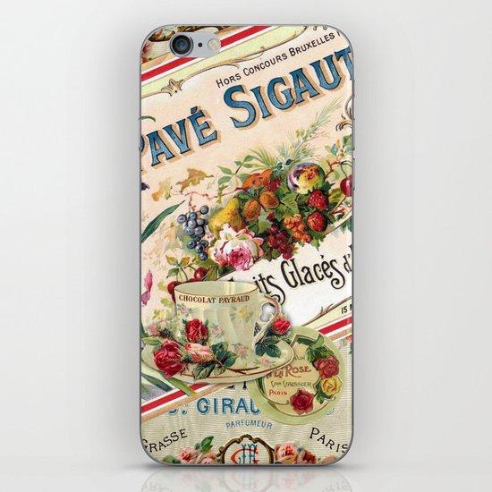 French iPhone & iPod Skin
