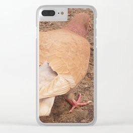 Over Your Shoulder Clear iPhone Case