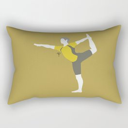 Wii Fit Trainer♂(Smash)Yellow Rectangular Pillow