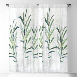 Eucalyptus Branches Blackout Curtain