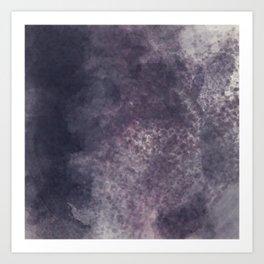 Melancholic Rain Art Print