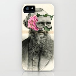 Roses are grey iPhone Case