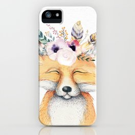 Forest Fox by Nature Magick iPhone Case