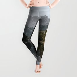 Lake View - Landscape and Nature Photography Leggings