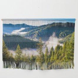 Smoke on the Mountains Wall Hanging