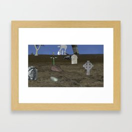 War Stars: find your color and rule Framed Art Print