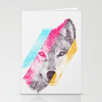 eric fan Stationery Cards featuring Wild 2 by Eric Fan & Garima Dhawan by Garima Dhawan