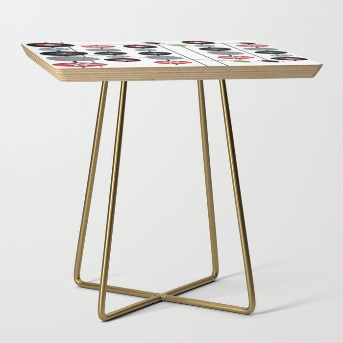 Mid-Century Modern Art Atomic Cocktail 2.0 Side Table