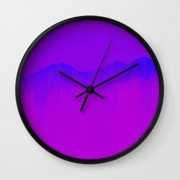 Mountain III Wall Clock