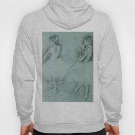 """Edgar Degas """"Two Dancers"""" Hoody"""