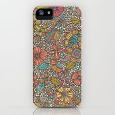 Doodles Garden Slim Case iPhone (5, 5s)
