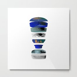 Nefertiti [Front] Metal Print