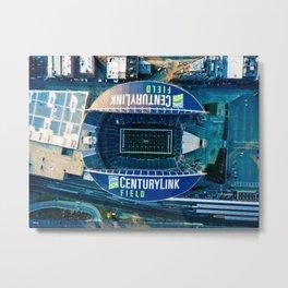 CENTURYLINK FIELD Home The Seahawks Metal Print