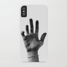Working Hands (I Dye) iPhone Case