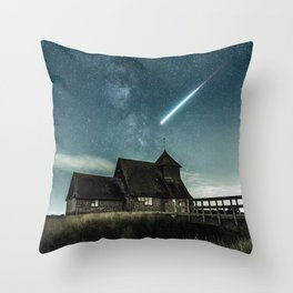 Shooting Star Throw Pillow