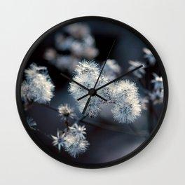 The Blue Wall Clock