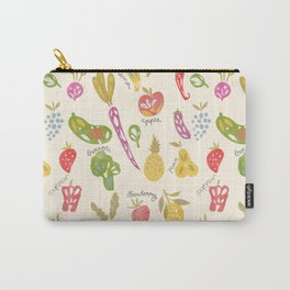 Veggies and Fruits Carry-All Pouch