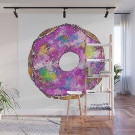 Psychedelic Phrosted Doughnut Baker's Dozen #1 Wall Mural