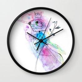 Hummingbird by Miss C Wall Clock