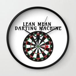 Darts Darting Machine Darts Lover Wall Clock
