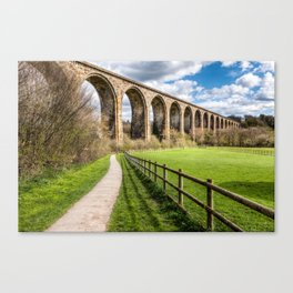 Cefn Viaduct Canvas Print