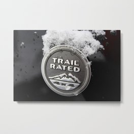 Trail Rated Jeep Metal Print