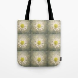 Daisy squares Tote Bag