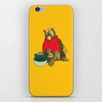 pooh iPhone & iPod Skins featuring Pooh! by Pieterjan Arends