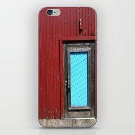 Amish Restaurant Barn Door iPhone Skin
