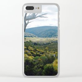Cradle Mountain Boardwalk Clear iPhone Case