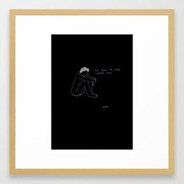 Fragile Men IV Framed Art Print