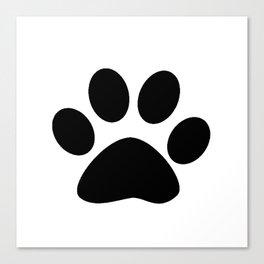 Furry Paw Canvas Print