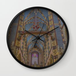 St. Mary's Basilica. Wall Clock