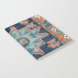 Karabakh  Antique South Caucasus Azerbaijan Rug Print Notebook