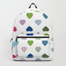 AFE Colorful Hearts Backpack
