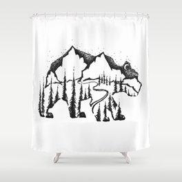 Bear Valley Shower Curtain