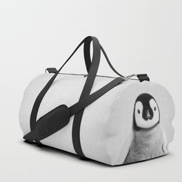 Baby Penguin - Black & White Duffle Bag