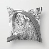 farm Throw Pillows featuring Farm by Justine O'Neil Photography