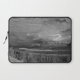 Matanuska Glacier Mono Laptop Sleeve