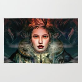 """Dream Winter, Spring Awakening"" Rug"
