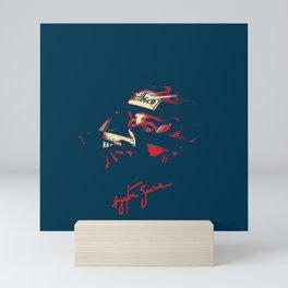 Ayrton Senna Tribute Design Mini Art Print